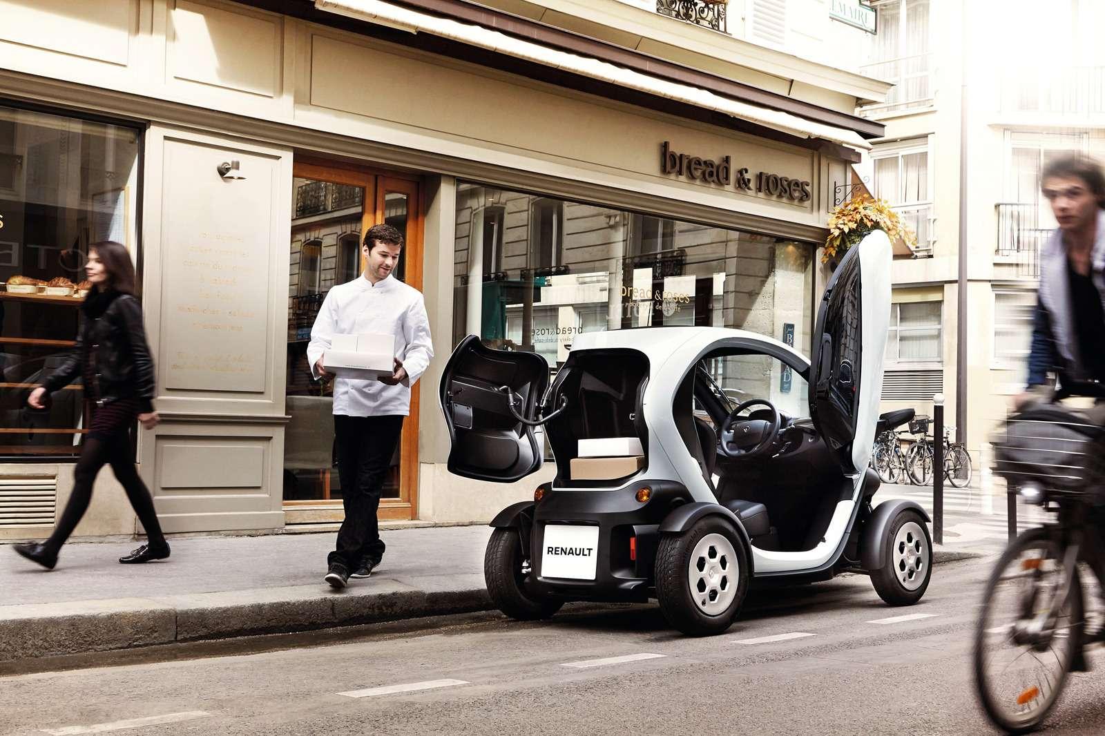 Renault позволила частникам покупать Twizy иKangoo Z.E.— фото 630782