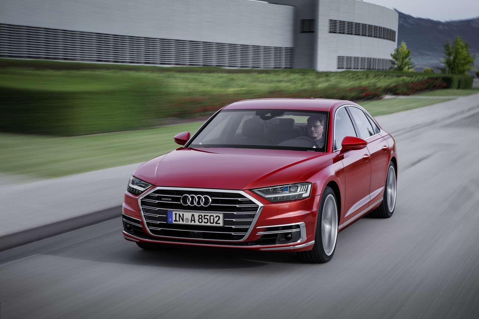 Технорывок Audi— премьера А8— фото 773523