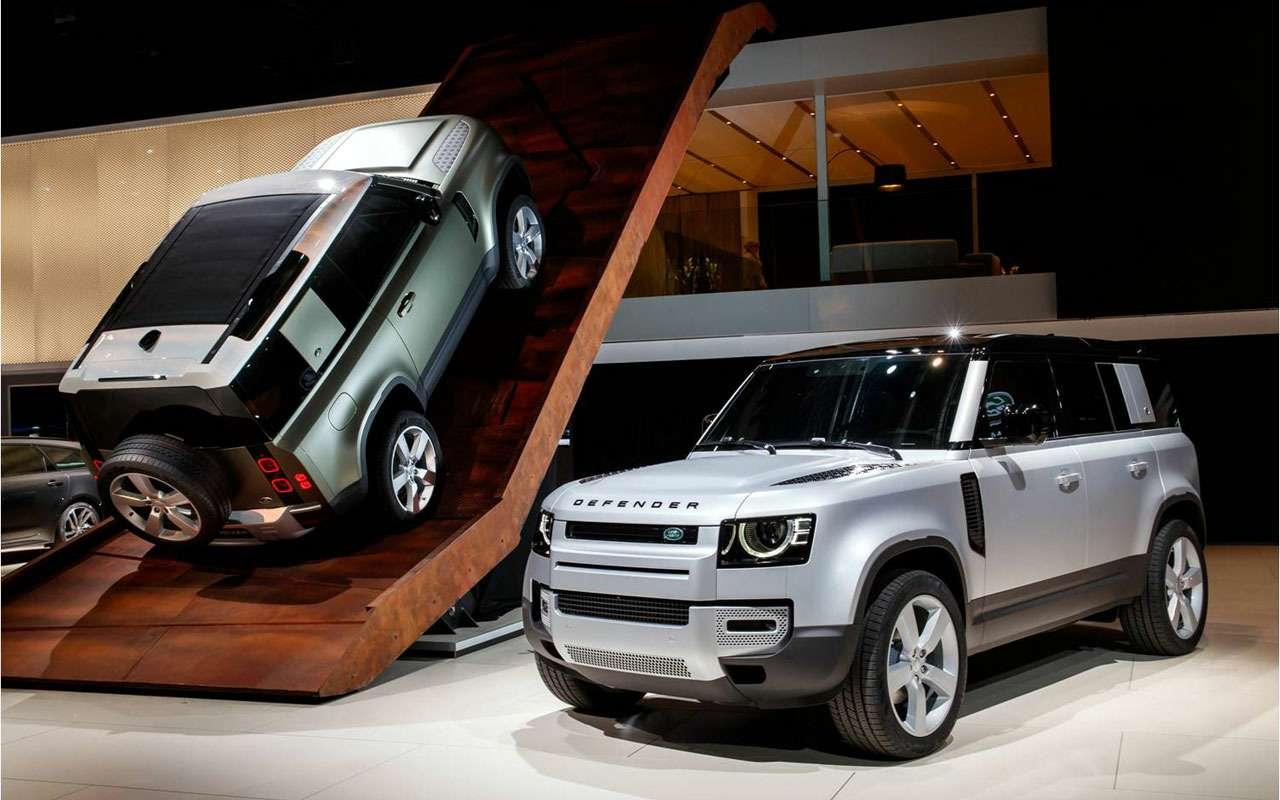 Новый Land Rover Defender иего 170 аксессуаров— фото 995260