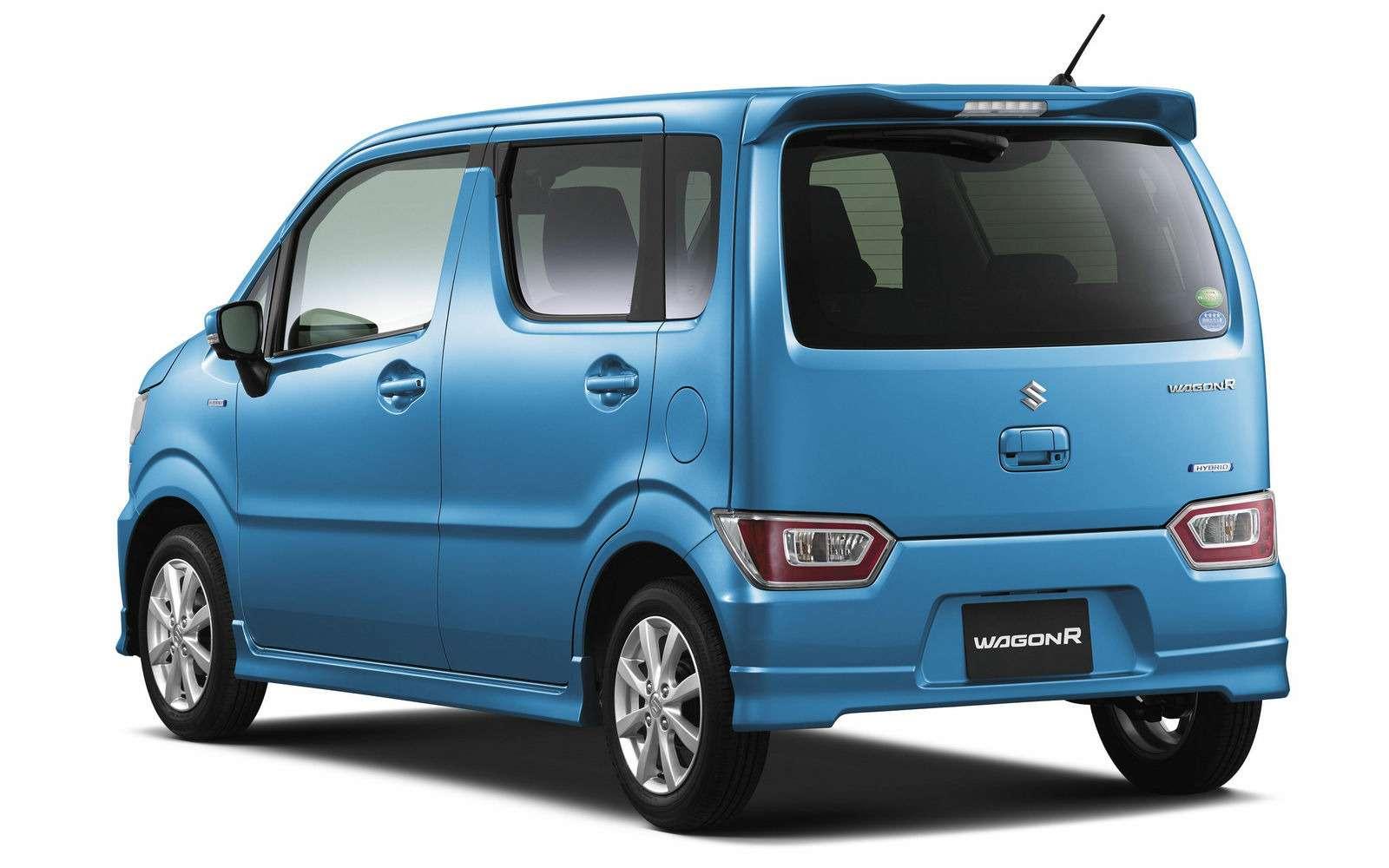 Новый Suzuki Wagon R: слюбовью кАмерике— фото 701846