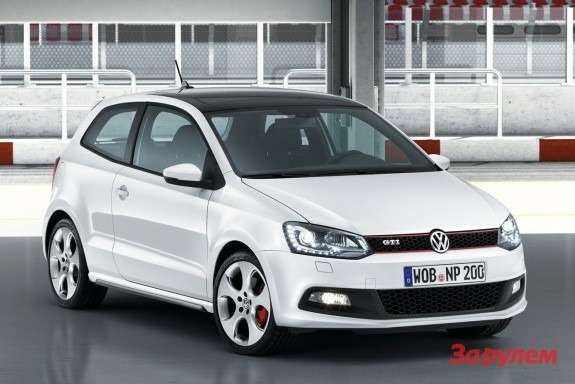 Volkswagen Polo GTI side-front view