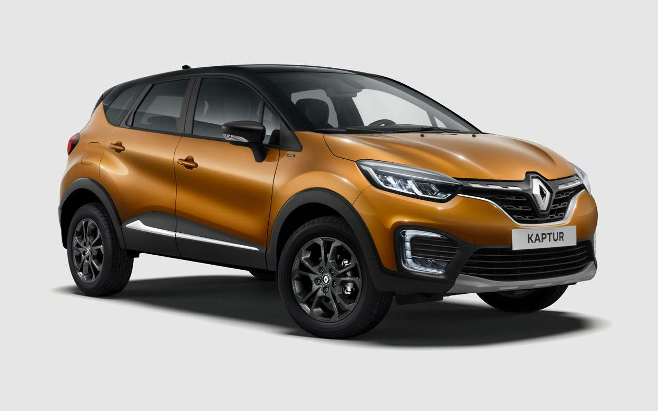 Появилась новая версия Renault Kaptur  Intense