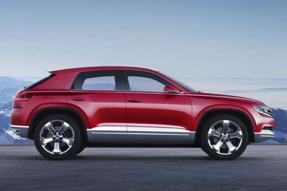 Volkswagen Cross Coupe TDI plug-in hybrid Concept side view