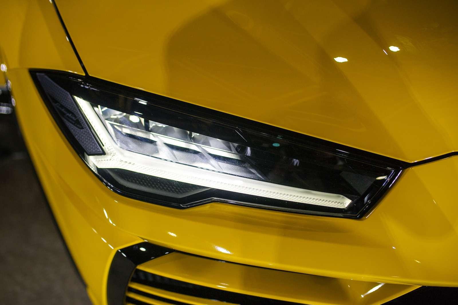 Lamborghini привезла вРоссию автомобиль, который не боится «лежачих полицейских»— фото 845785
