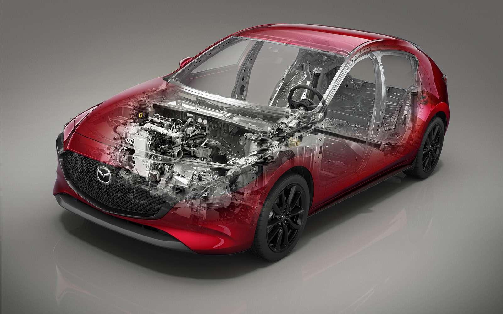 Новая Mazda 3: рассматриваем вдеталях совсех сторон— фото 928238
