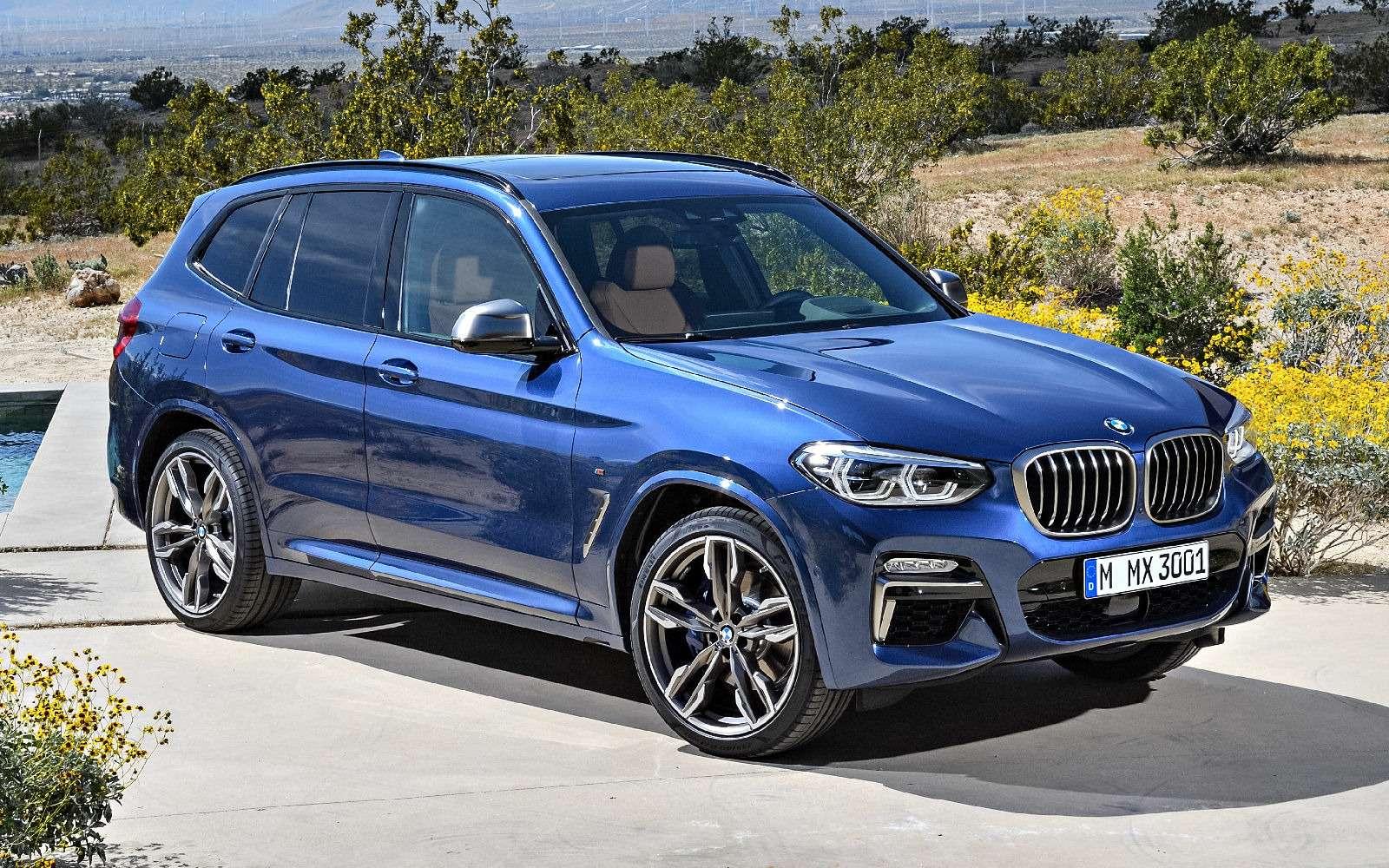 Новый BMW X3оказался крупнее старого Х5— фото 768540