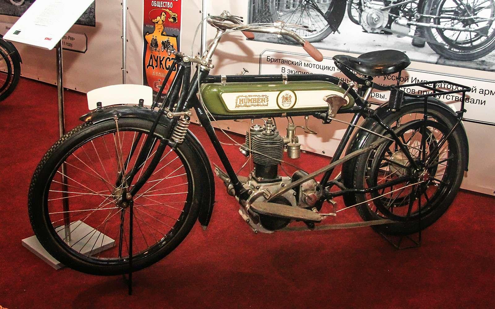 Humber 1912г