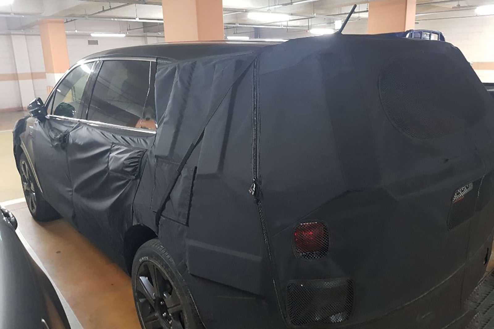 Новый Kia Sorento: первые фото иинформация