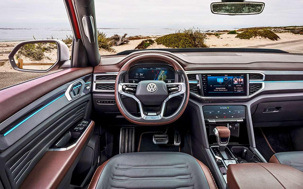 VWTeramont размножается: тест-драйв купе-кроссовера ипикапа— фото 921303