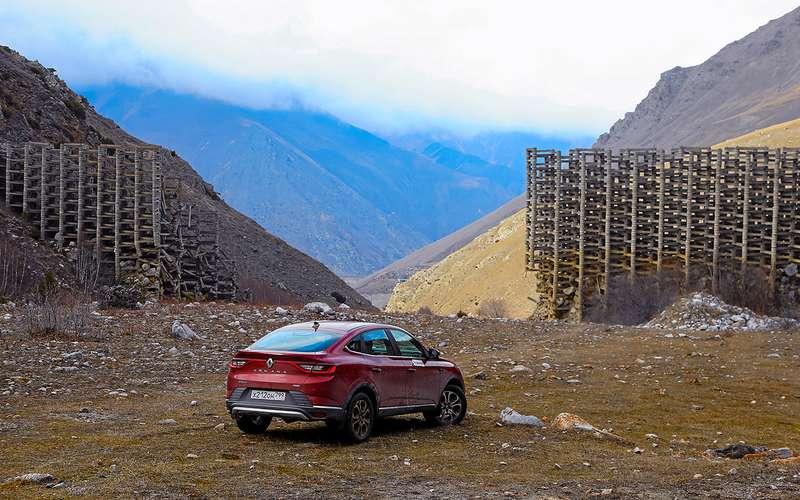 Renault Arkana стурбо ивариатором: реально жесткий тест