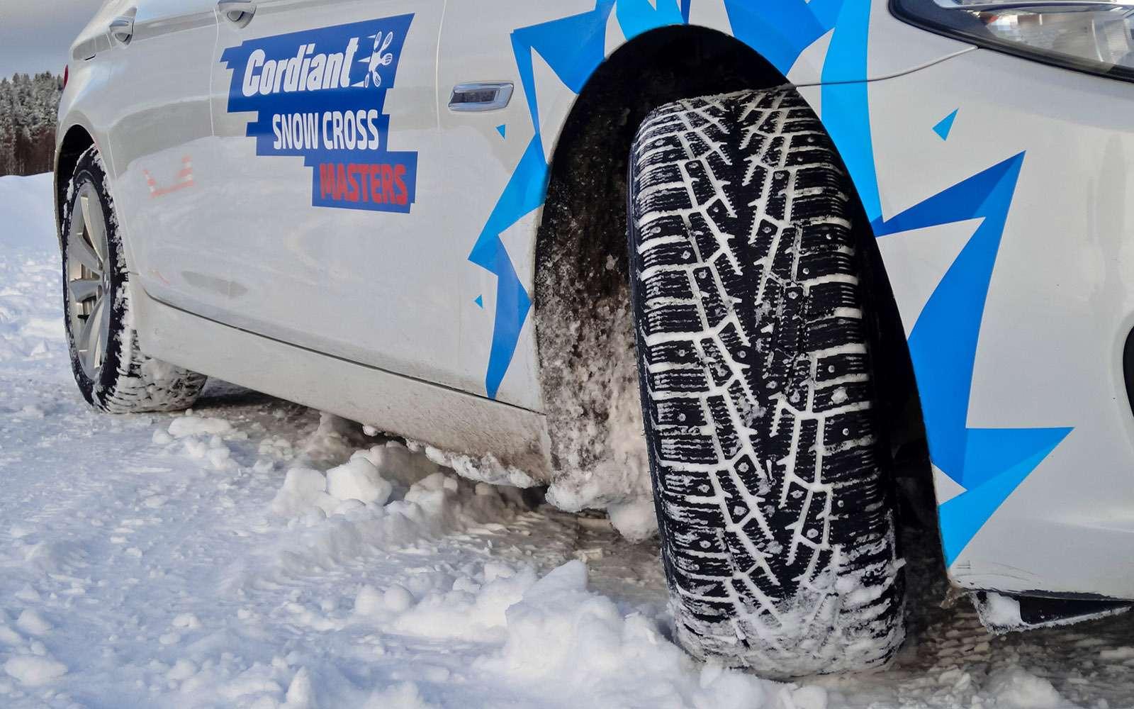 Новая шина Cordiant Snow Cross: лучше старых двух— фото 667036