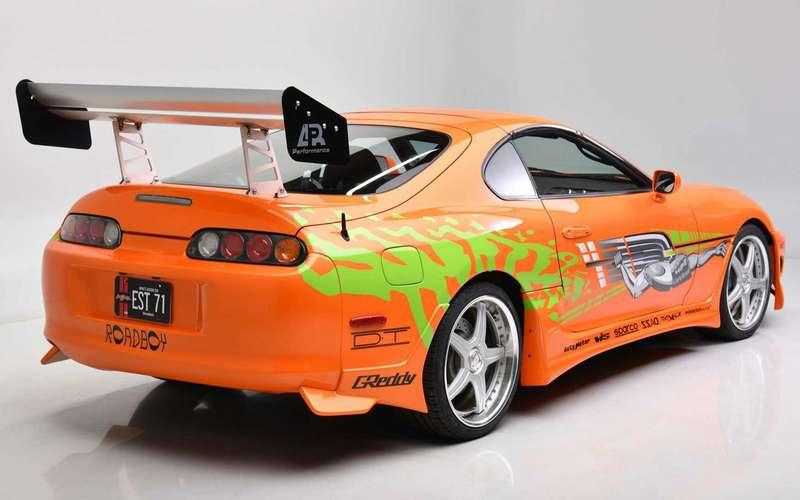 Toyota Supra из«Форсажа» выставляется наторги