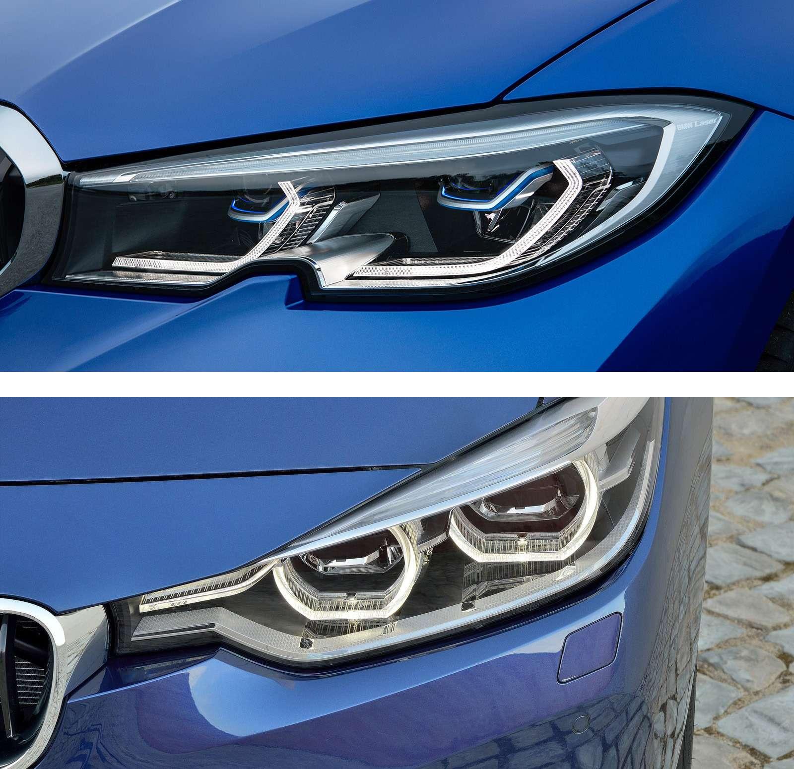 Новая BMW 3-й серии против старой: какая красивее?— фото 912579