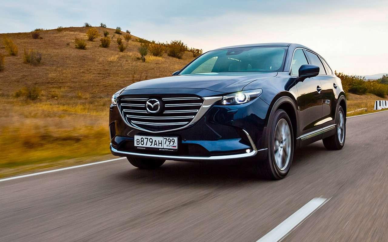 Тест-драйв нового кроссовера Mazda CX-9: сядут все!— фото 823756