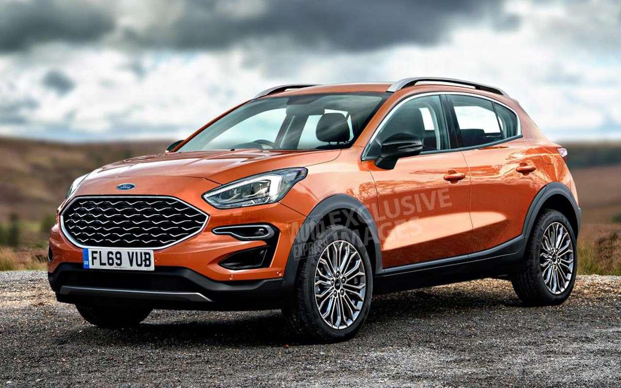 Ford заменит EcoSport наFiesta SUV— фото 942525