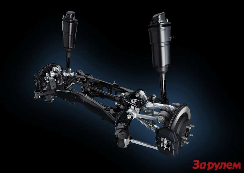 LS 2013 Rear Air Suspension