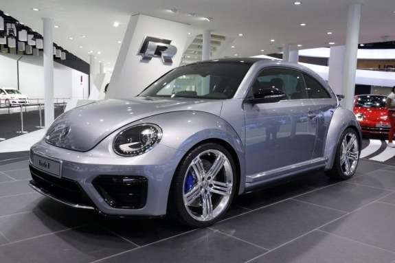Volkswagen Beetle R concept side-front view