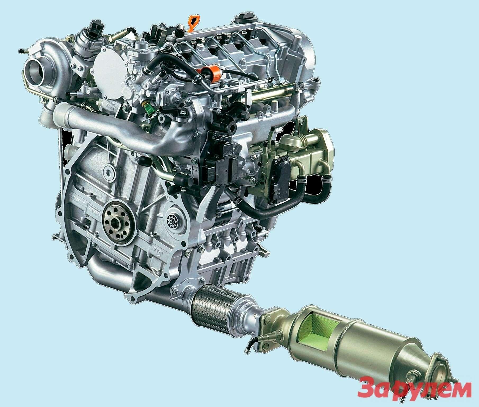 Дизельный двигатель: сажа илажа— фото 258662