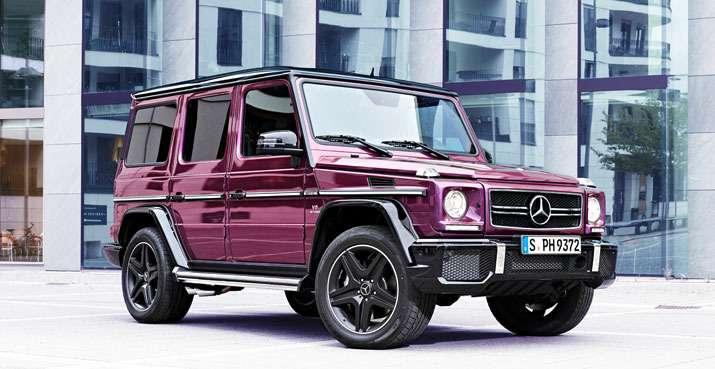 Mercedes-Benz начал продажи внедорожников G-класса вярких цветах— фото 371238