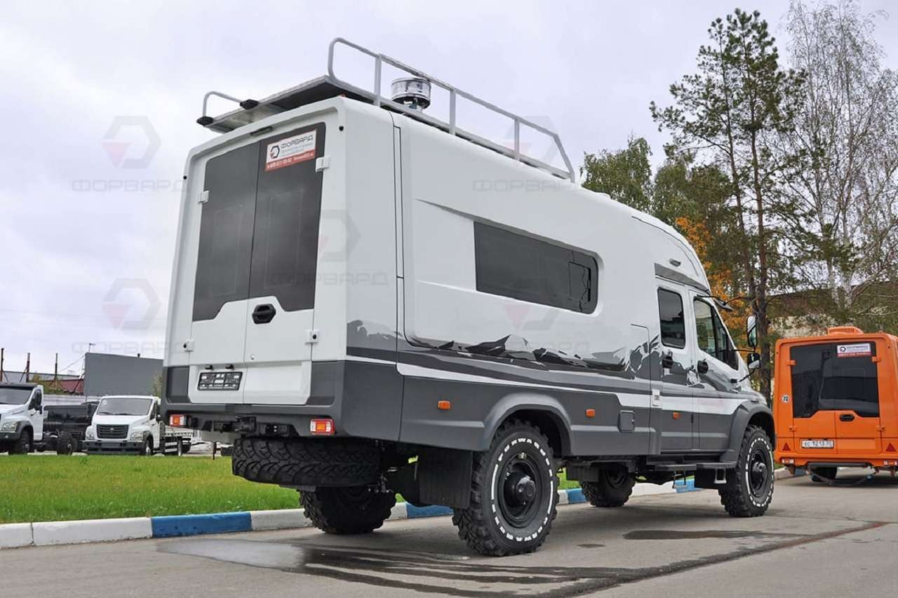 Крутой автодом набазе ГАЗ Садко Next— как онустроен?— фото 1284534