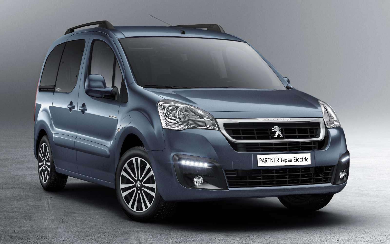 Peugeot Partner Tepee Electric: поездка будет недолгой— фото 708825