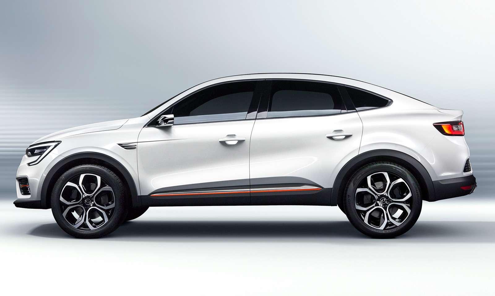 Renault Arkana: новое имя ипрописка— фото 961334
