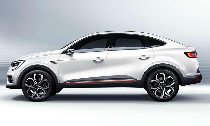 Renault Arkana: новое имя ипрописка
