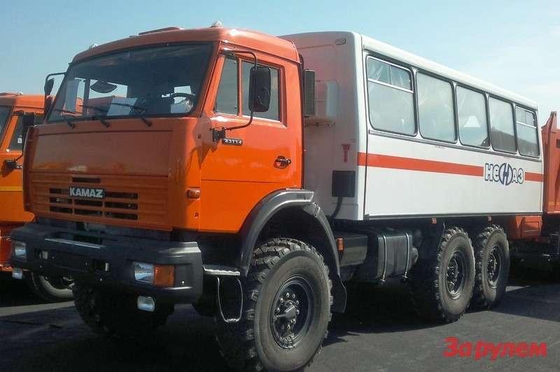 автобус вахтовый НЕФАЗ-42111