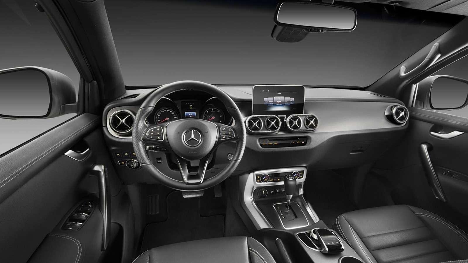Mercedes-Benz X-класса: пружины вместо рессор— фото 775877