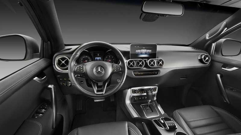 Mercedes-Benz X-класса: пружины вместо рессор