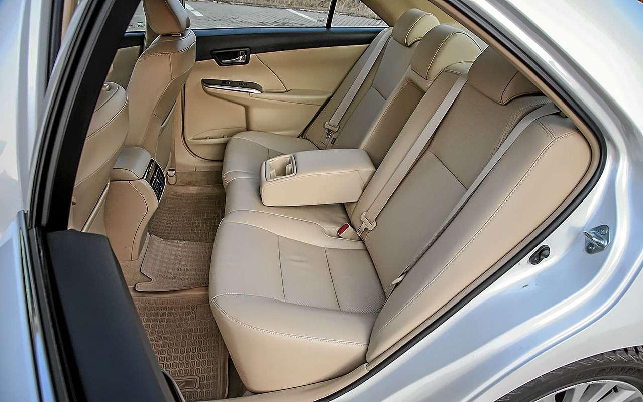 Hyundai Sonata или Toyota Camry— выбор ЗР— фото 810006