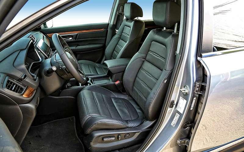 Новая Honda CR-V— первый российский тест