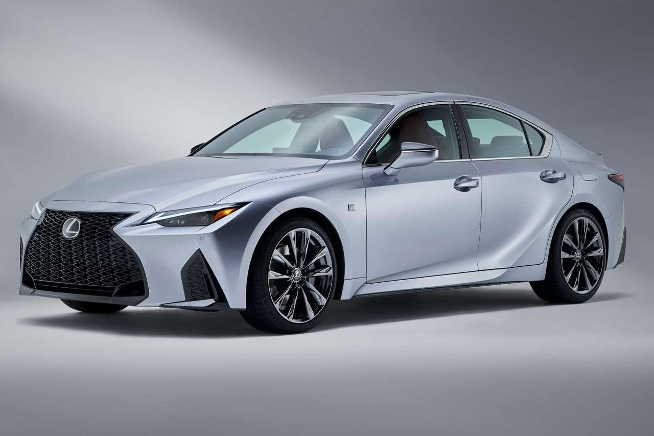 Представлен новый Lexus IS— фото 1140413