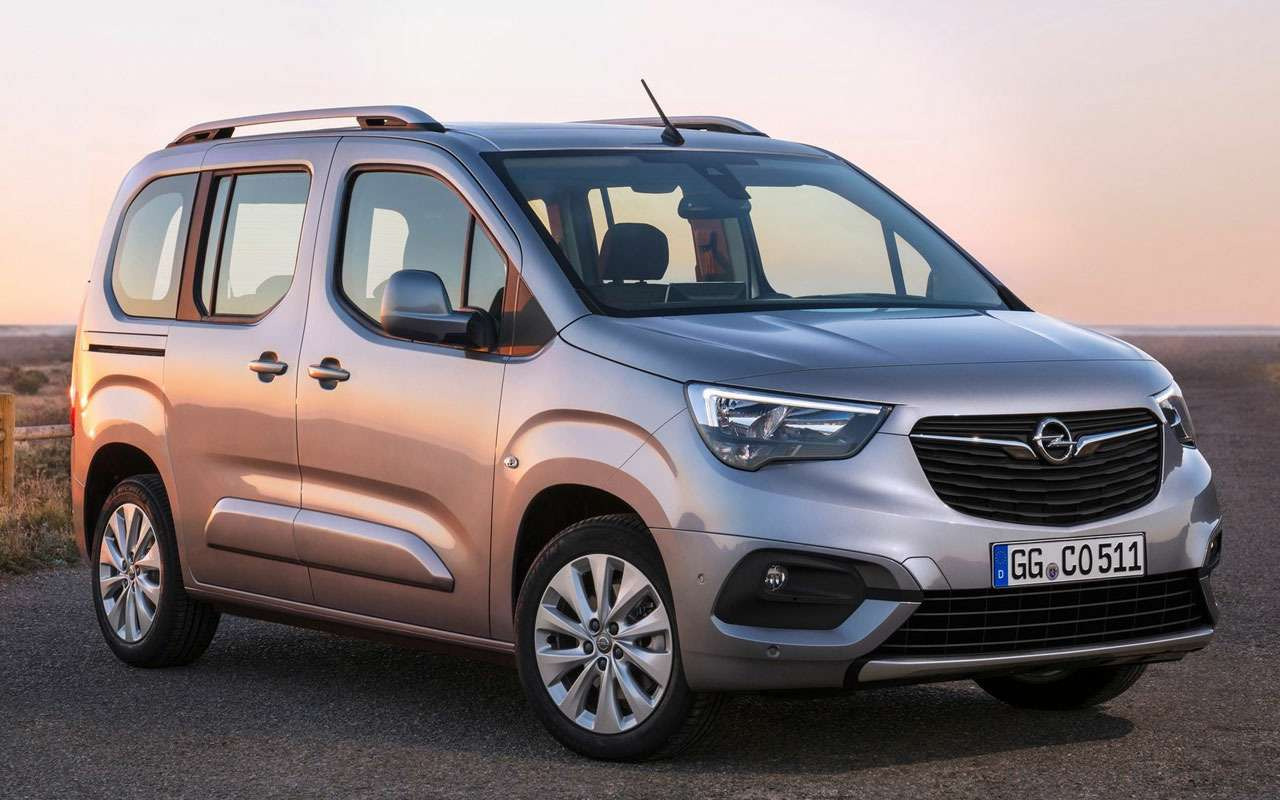 Четвертая модель Opel дляРоссии— первые фото— фото 983985
