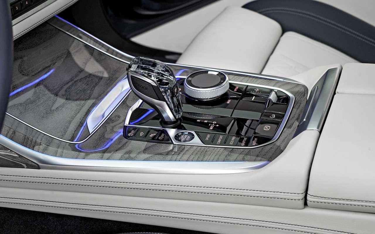 BMWX7: гигантский кроссовер иновый флагман. Цена вРоссии известна— фото 914982