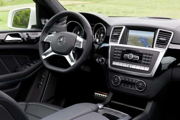 Mercedes-Benz GL63AMG inside