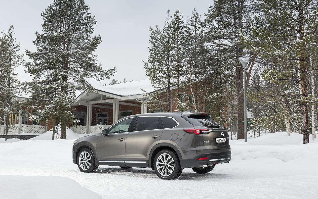 Mazda CX-9 2019: все небольшие изменения— фото 960331