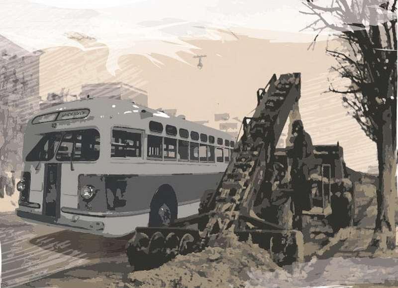 Автобус ЗИС-154: эх, еслибы недизель...