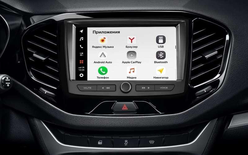 Новая мультимедиа дляавтомобилей Lada: АВТОВАЗ представил EnjoY Pro