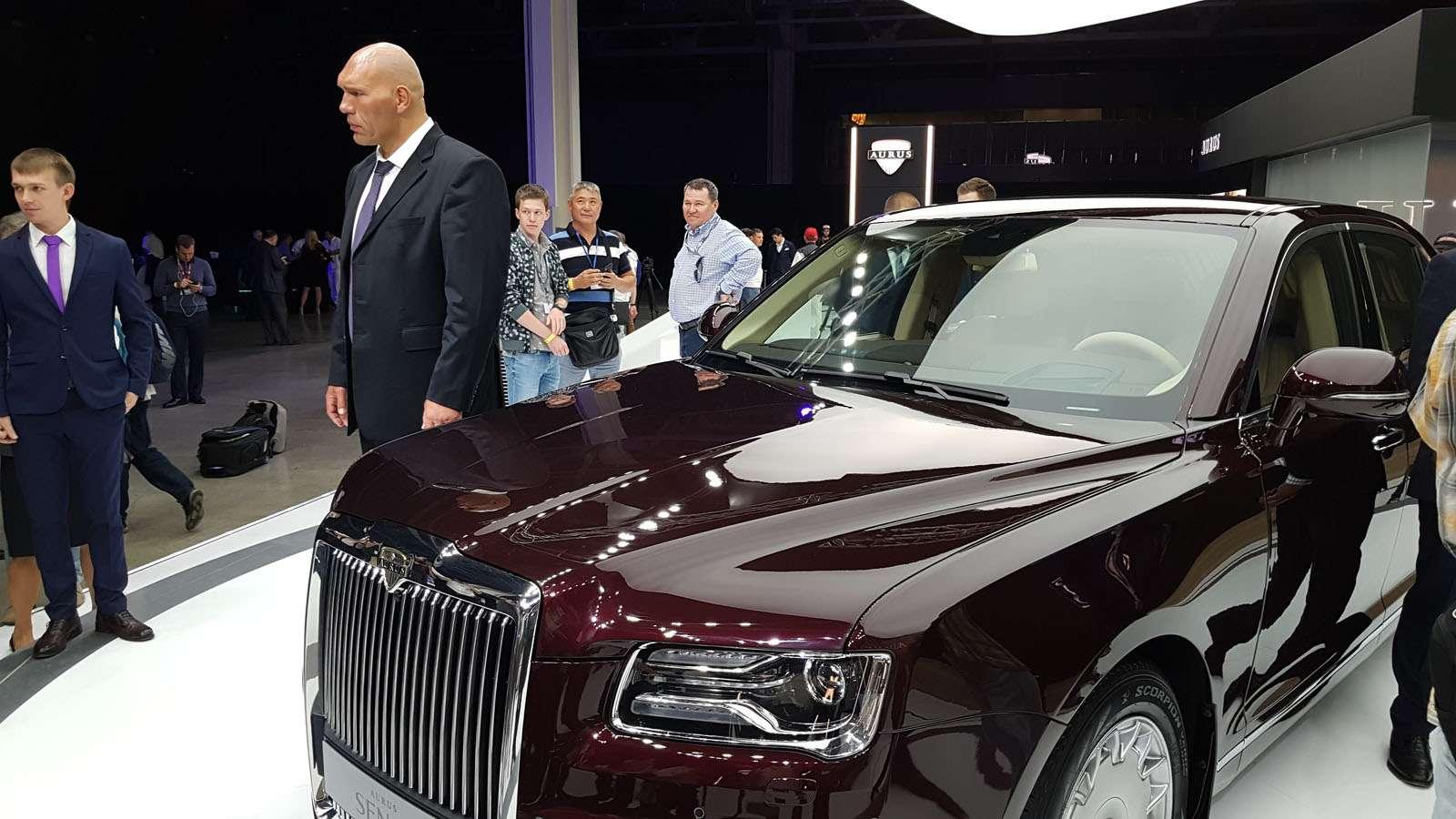Московский автосалон: мировая премьера Aurus Senat— фото 900163