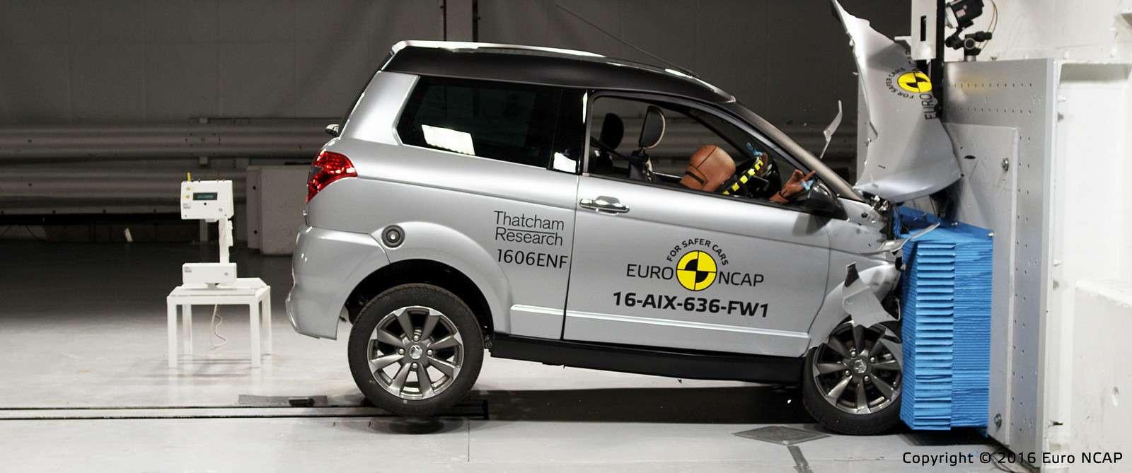 Euro NCAP огласил ужасающие результаты краш-тестов тяжелых квадроциклов— фото 573074