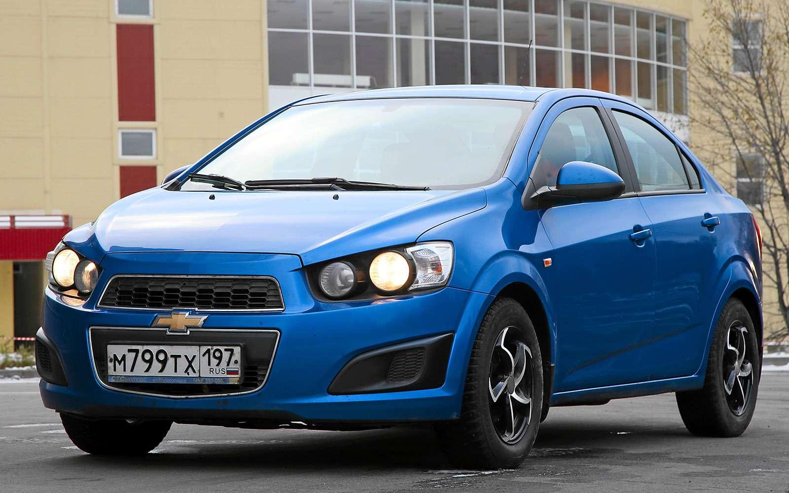 Chevrolet Aveo изпарка ЗР: цена ошибки— фото 691827