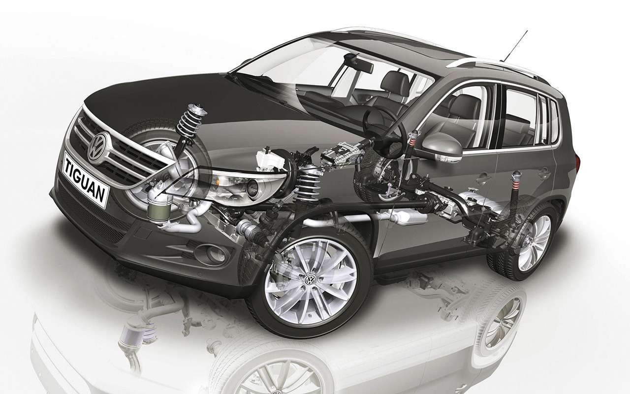 Volkswagen Tiguan спробегом: как некупить хлам— фото 978661