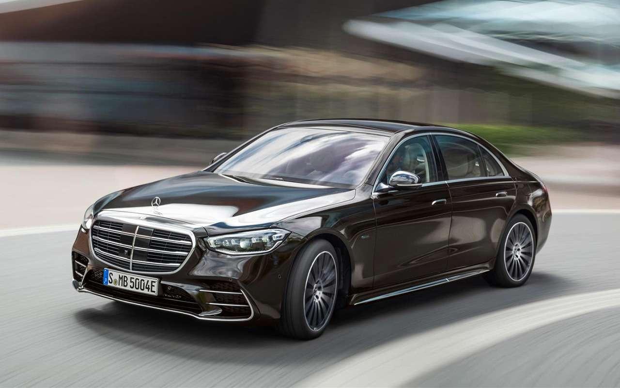 Mercedes-Benz S-класса: цены икомплектации— фото 1206282
