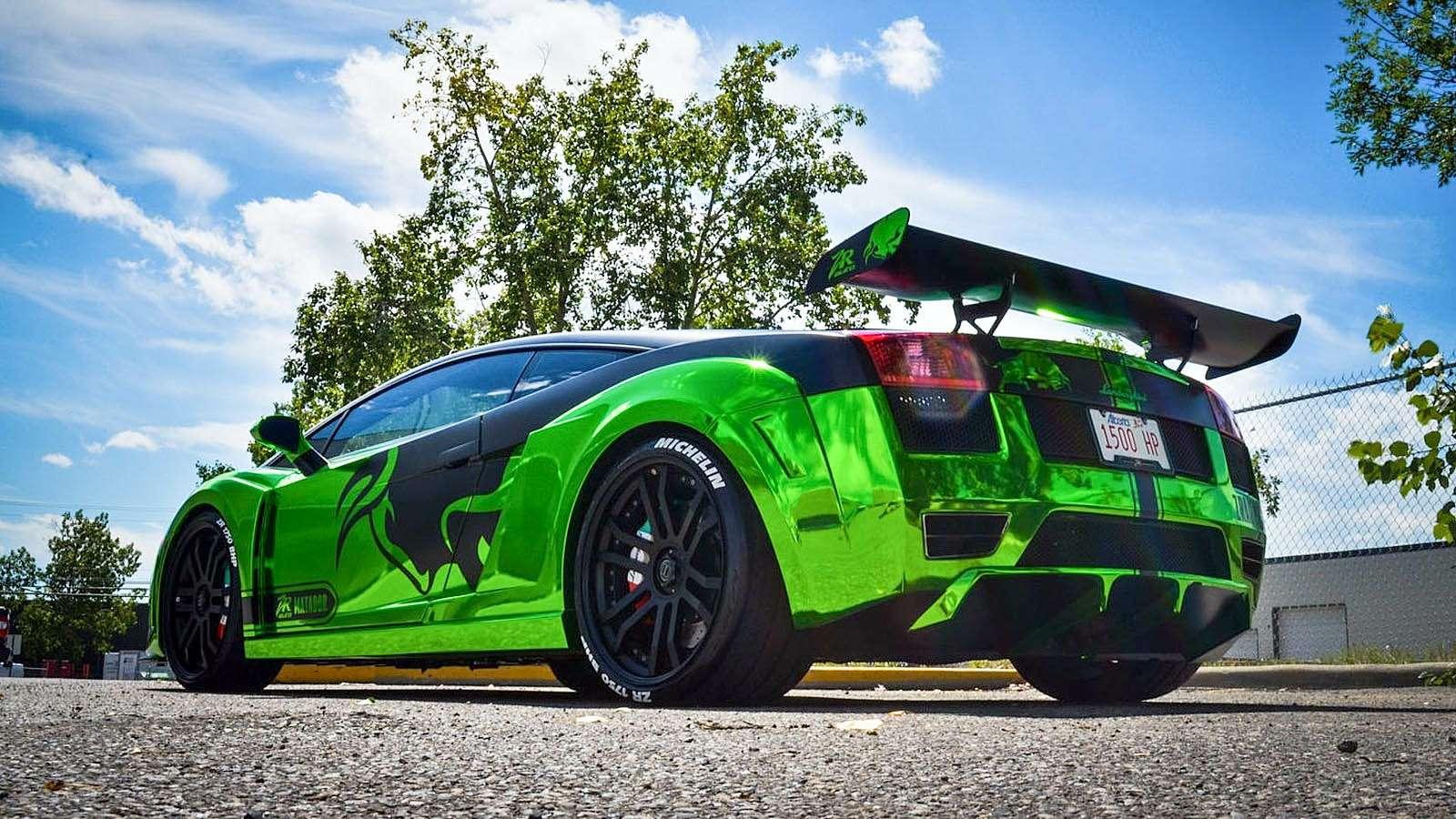 Cуперкар Lamborghini Gallardo отHeffner Performance