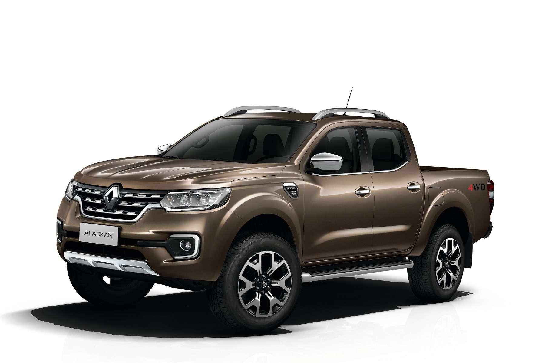 Ниссан поимени Renault: представлен пикап Alaskan— фото 603828