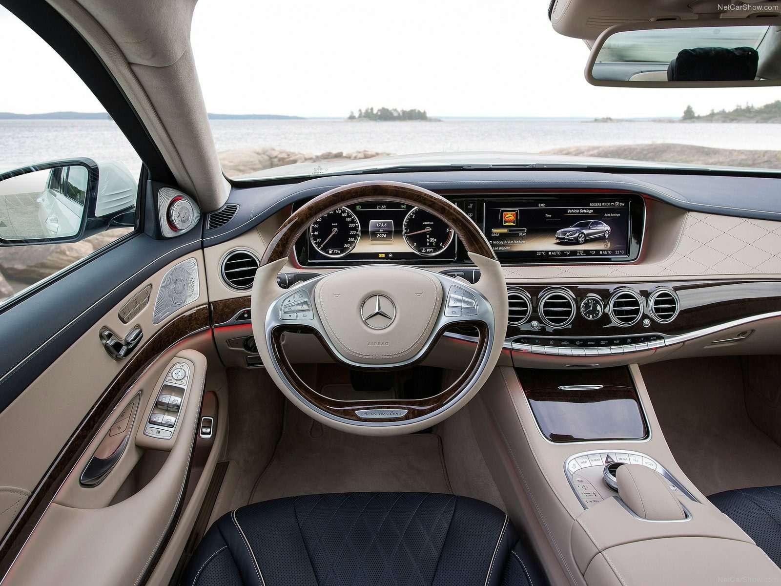 03Mercedes S-Class interior