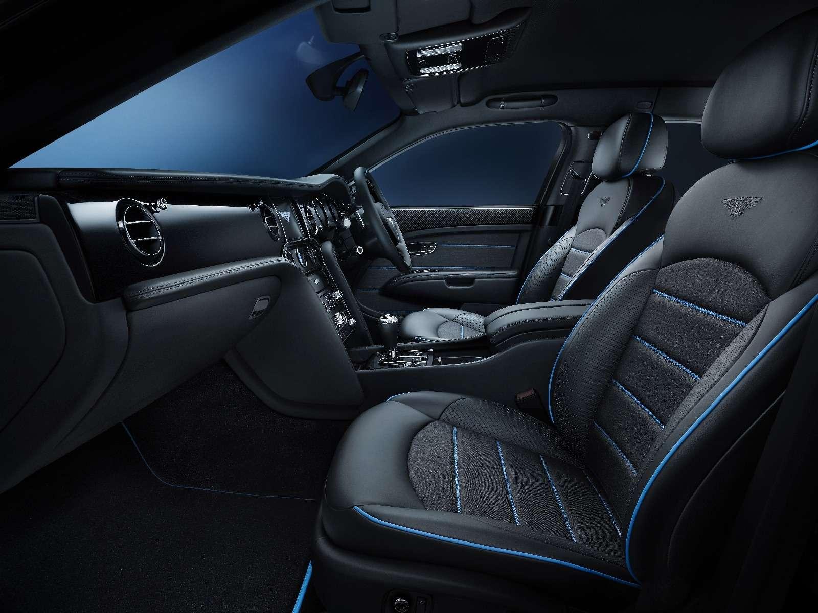 Тьма сгущается: Bentley Mulsanne получил еще одну «зловещую» версию— фото 671551