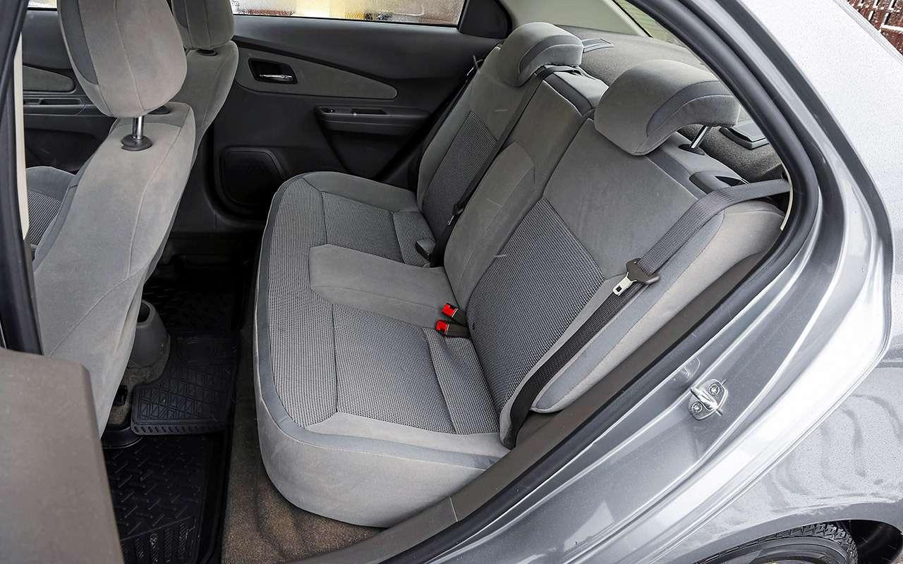 Chevrolet Cobalt иЛада Веста— большой тест— фото 1224458
