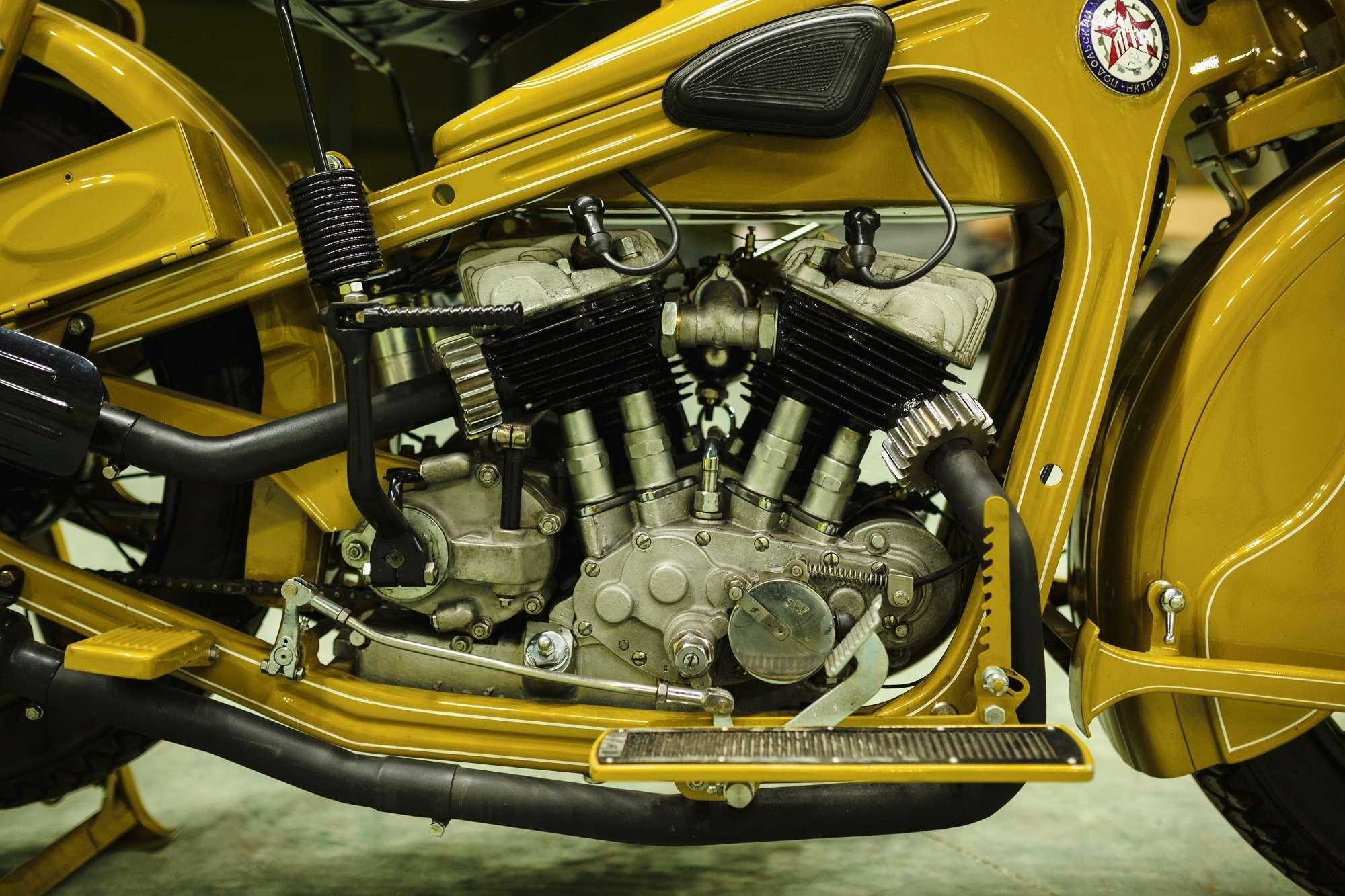 Тяжелый мотоцикл ПМЗ А-750: как Harley-Davidson оказался входовой BMW— фото 927409